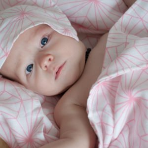 Swaddle with bamboo
