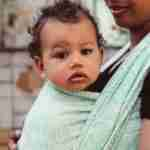 baby wrap Polaris May Mint